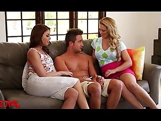 Hot Juicy MILF Threesome