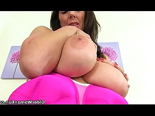 Cougar Granny HD Mature MILF Nylon Panties Stocking