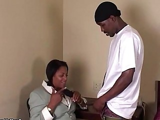 Big Cock Ebony BBW Fatty Granny Huge Cock Mammy Mature