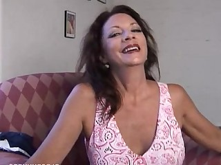 Mature MILF Pussy Sperm Cougar Brunette Boobs Wife