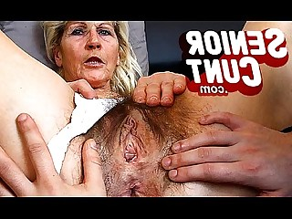 Fingering Kitty Masturbation Mature MILF Mammy Dildo Old and Young