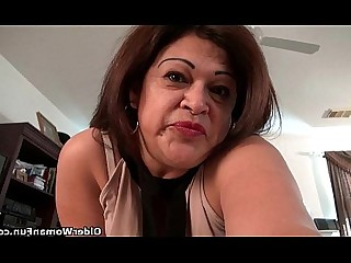 Striptease Tease Cougar Granny HD Masturbation Mature MILF