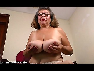 HD Nylon Stocking Mature BBW Cougar Fatty Granny