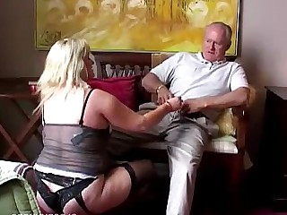 Juicy Mammy Mature MILF Sperm Stocking Sucking Ass