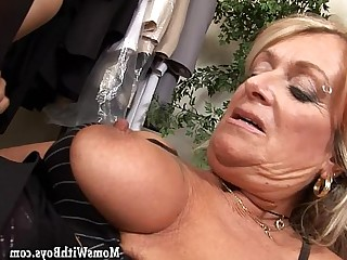 Blonde Blowjob Cougar Cumshot Dress Facials Fuck Granny