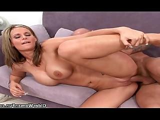 HD Hot Mammy Mature MILF Mouthful Blowjob Cougar