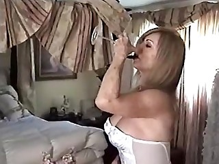 Big Tits Mature Panties Nylon Blonde Lingerie Granny Daddy