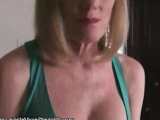 Blonde Jerking Cumshot Sweet MILF Amateur Blowjob Cougar