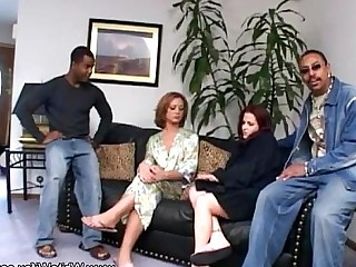 MILF Interracial Innocent Cougar Anal Wife Housewife