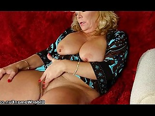 Cougar Granny Hairy Mature MILF Nylon Panties Stocking