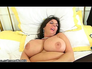 Stocking Solo Pleasure Orgasm MILF Mature Masturbation HD