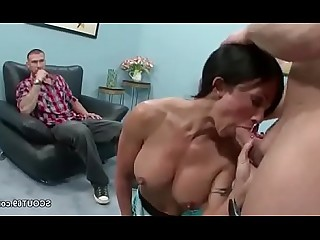 Facials Fuck Hardcore Hot Mammy Mature MILF Threesome