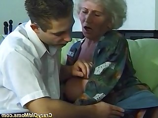 Hot Homemade Huge Cock Mature Amateur Granny Anal Facials