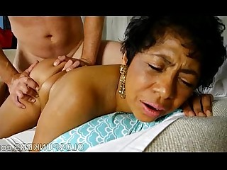 Mature MILF Wife Black Cougar Cumshot Facials BBW