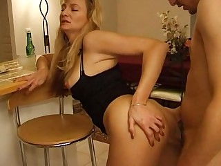 Mature Blonde Fuck Handjob Mammy Boobs MILF Orgasm