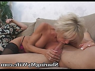 Wife MILF Fuck Mature Blowjob Blonde Oral Hot