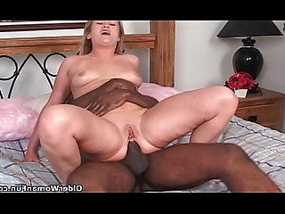 Anal Mouthful MILF Mature Mammy Interracial Fuck Cougar