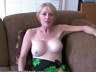 Ladyboy Mammy Mature MILF Amateur Blonde Blowjob Boobs