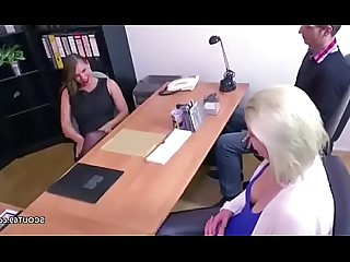 Mammy Mature MILF Really Threesome Amateur Blowjob Casting