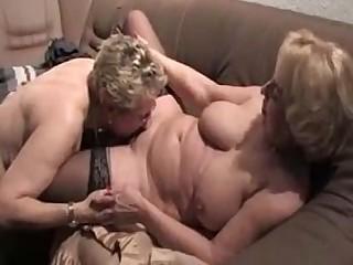 Granny Lesbian Mammy Mature Pussy
