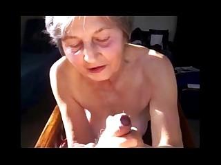 Mature Blowjob Cumshot Granny Mammy