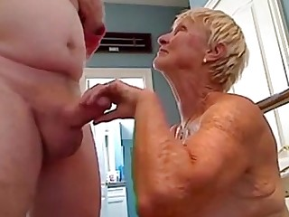 Mature Mammy Granny Blowjob