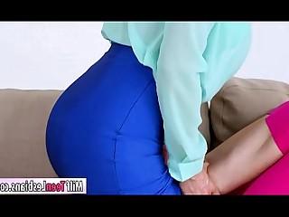 Lesbian Mature MILF Oral Teen