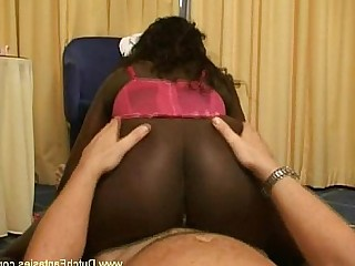 Black Cougar Ebony Fantasy Fuck Innocent Interracial MILF