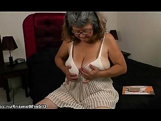 Cougar BBW Granny HD Hidden Cam Mature MILF Nylon