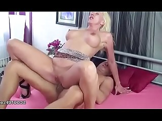 Mature MILF Mammy Hardcore Daddy Seduced Fuck
