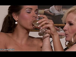 Kitty Lesbian Mammy Mature MILF Old and Young Pleasure Pornstar