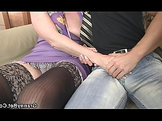 Granny Hot Mature Oil Old and Young Pleasure Pussy Slender