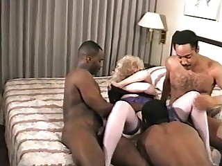 Wife Ass Threesome Mature MILF Fuck