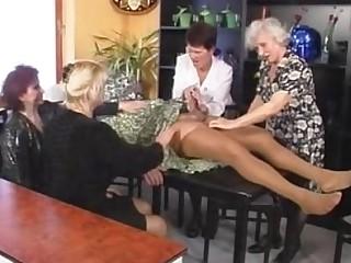 Fuck Granny Mature Orgy