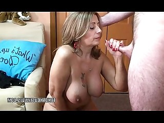 Big Tits Blonde Blowjob Cum Cumshot Deepthroat Mammy Mature