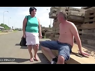 Fuck Granny Hardcore Mature Old and Young Outdoor Teen
