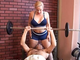 BBW Facials Curvy Cumshot Cougar Blonde Hot Housewife