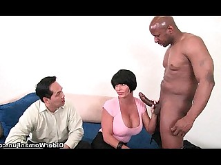 Black Mature Big Cock Hardcore Cougar Couple Interracial Mammy
