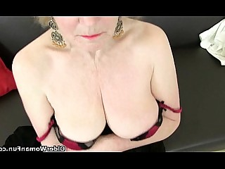 Cougar Granny HD Masturbation Mature MILF