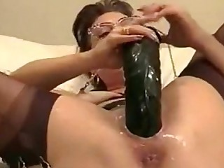 MILF Cumshot Masturbation Dildo Kitty Homemade Hot Toys