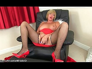 Granny HD Mammy Mature MILF Nylon Panties Cougar