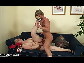 Pleasure Couch Granny Hot Mature Old and Young Teen Slender