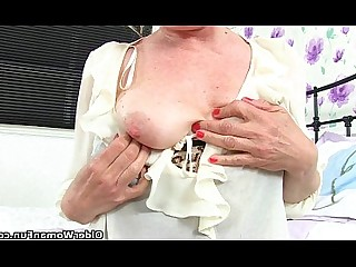 Cougar Granny HD Mature Nurses Solo Stocking