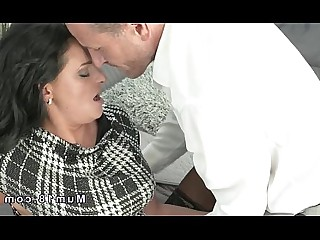Mammy Stocking Oral MILF Mature Housewife Hardcore Gang Bang