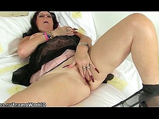Panties Stocking Cougar HD Masturbation Mature Nylon