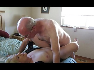 Cougar Couple Fuck Granny Homemade Horny Mature Pussy