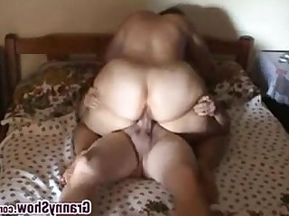 Mature Granny Amateur BBW Couple Licking Homemade Lover