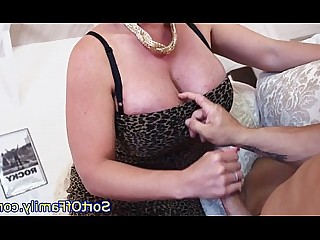 Threesome Blowjob Big Cock Cougar Daughter Mammy Mature Really
