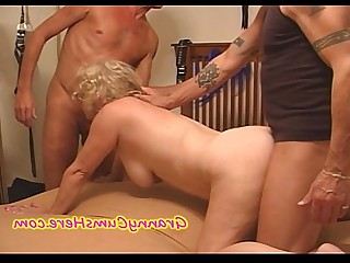 BDSM Cumshot Gang Bang Granny Housewife Mammy Mature Nasty