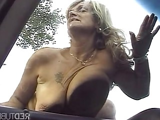 Wild Mature Fuck Granny Outdoor